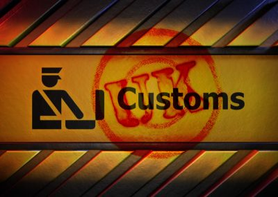 Customs UK title page